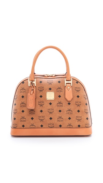 MCM Medium Bowler Bag