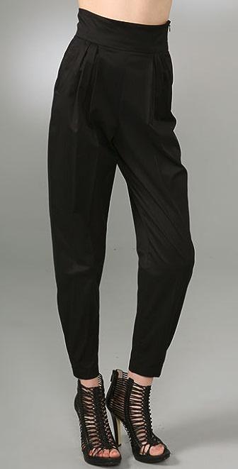 McQ - Alexander McQueen Stretch Cotton Sateen Pants