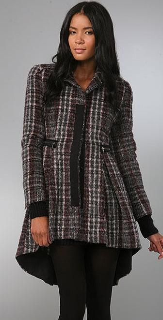 McQ - Alexander McQueen Plaid Coat