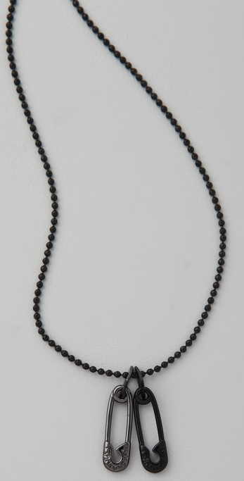 McQ - Alexander McQueen Safety Pin Necklace