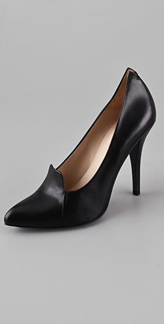 McQ - Alexander McQueen Up Front High Heel Pumps