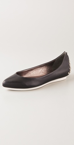 McQ - Alexander McQueen Studded Ballet Flats