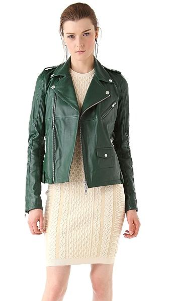 McQ - Alexander McQueen Biker Leather Jacket