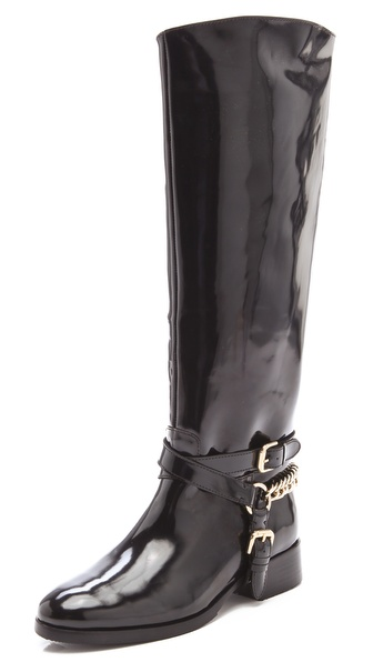 McQ - Alexander McQueen Chain Riding Boots