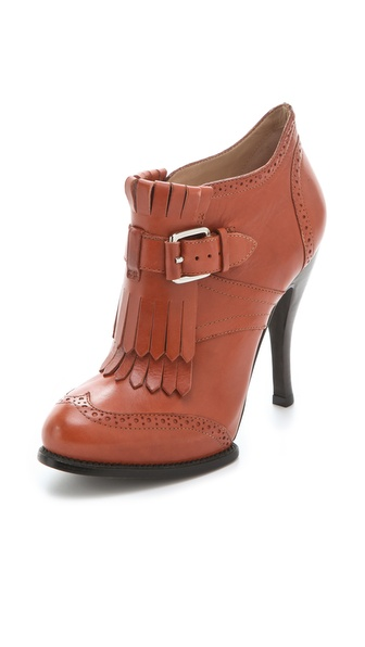 McQ - Alexander McQueen Brogue Booties