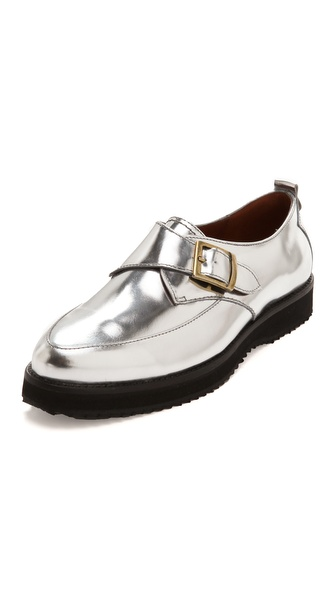 McQ - Alexander McQueen Patent Leather Creepers