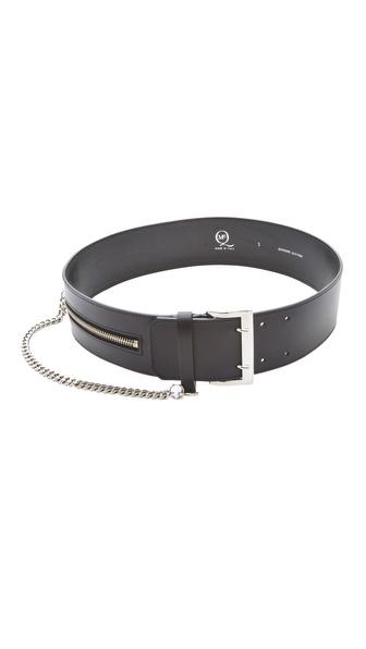 McQ - Alexander McQueen Wide Victorian Chain Belt