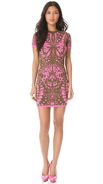 McQ - Alexander McQueen Butterfly Dress