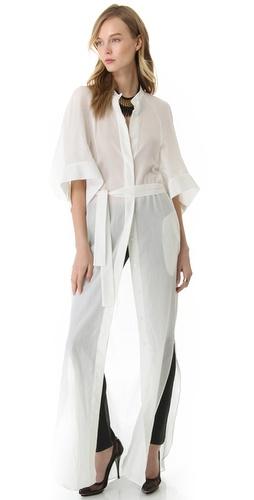 McQ - Alexander McQueen Long Shirtdress