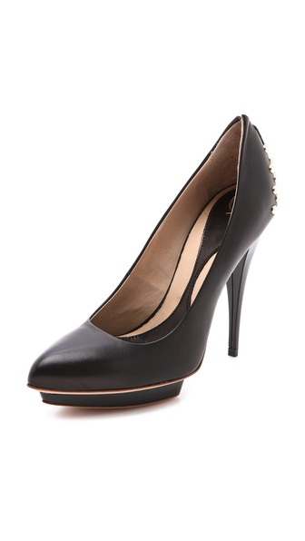 McQ - Alexander McQueen Studded Heel Pumps
