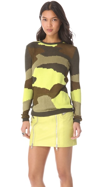 McQ - Alexander McQueen Camouflage Sweater