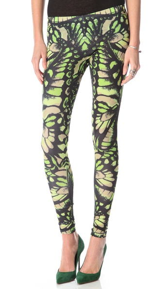 McQ - Alexander McQueen Printed Leggings