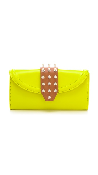 McQ - Alexander McQueen Collar Stud Flap Wallet
