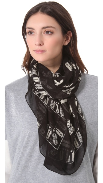 McQ - Alexander McQueen Razor Blade Scarf