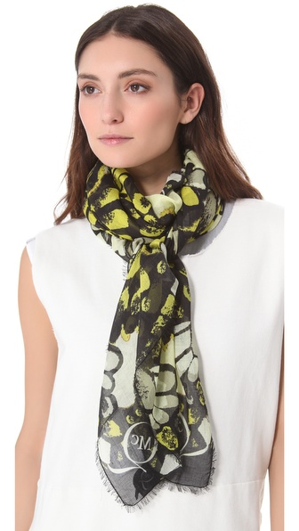 McQ - Alexander McQueen Butterfly Camo Scarf