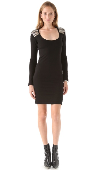 McQ - Alexander McQueen Scoop Neck Dress