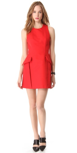 Shop McQ - Alexander McQueen Pocket Dress and McQ - Alexander McQueen online - Apparel, Womens, Dresses, Cocktail, Night_Out,  online Store