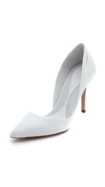 McQ - Alexander McQueen Slash Point Pumps