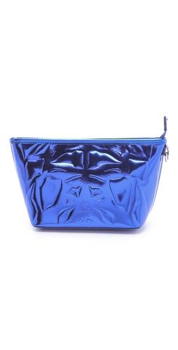 McQ - Alexander McQueen Metallic Makeup Bag