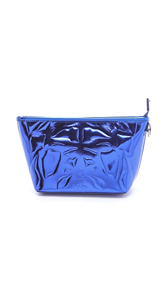 McQ - Alexander McQueen Metallic Makeup Bag