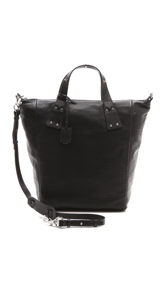 McQ - Alexander McQueen Perforated Stepney Tote