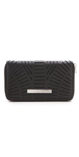 McQ - Alexander McQueen Slash Zip Around Wallet at Shopbop.com
