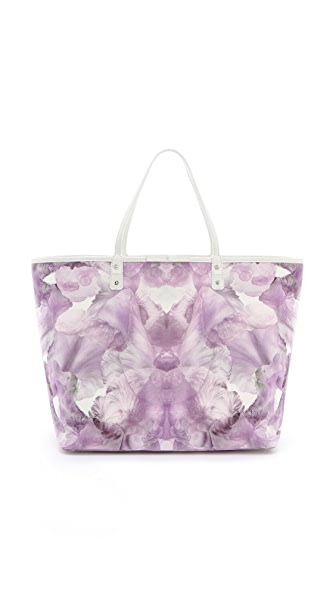 McQ - Alexander McQueen Iris Printed Large Tote