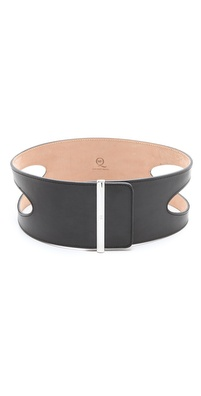 McQ - Alexander McQueen Scoop Metal Clasp Belt