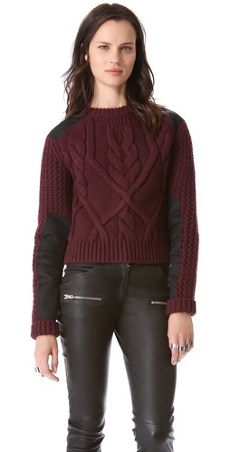 McQ - Alexander McQueen Cable Sweater