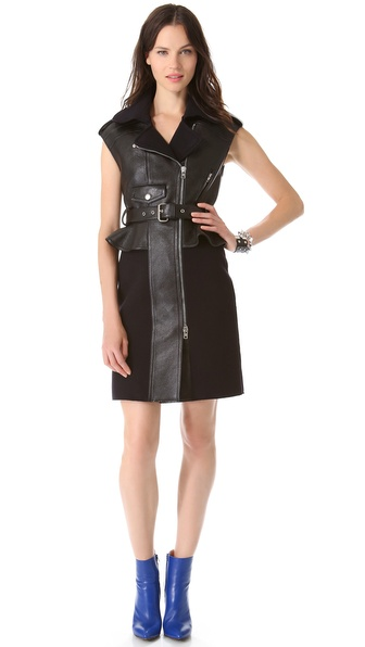 McQ - Alexander McQueen Biker Dress
