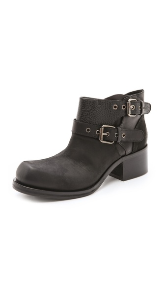 McQ - Alexander McQueen Chunky Military Booties