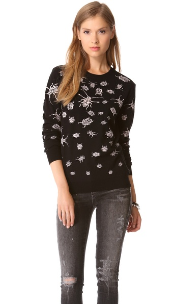 McQ - Alexander McQueen Bug Sweater