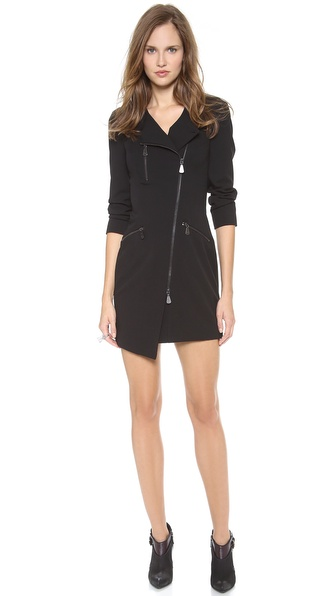 McQ - Alexander McQueen Tailored Zip Back Dress