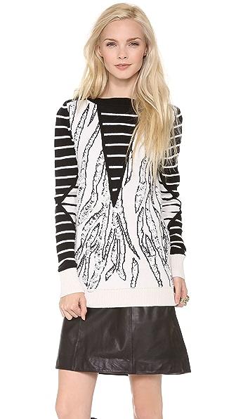 McQ - Alexander McQueen Combo Sweater
