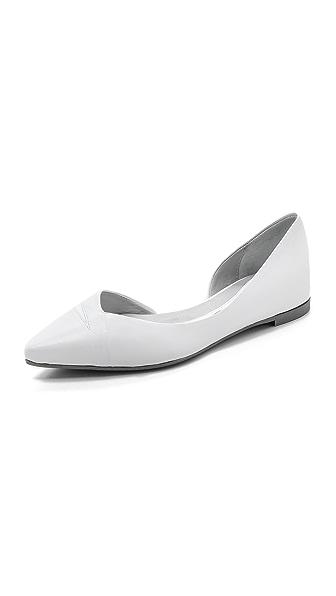McQ - Alexander McQueen Ada Punk Pointed Toe Flats