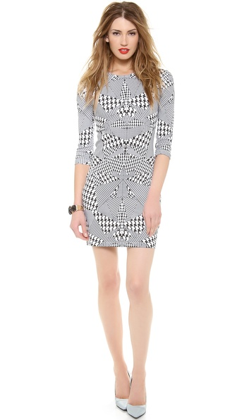 McQ - Alexander McQueen 3/4 Sleeve Dress