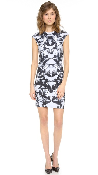 McQ - Alexander McQueen Cap Sleeve Dress