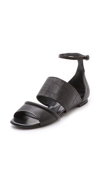 McQ - Alexander McQueen Erin Flat Sandals