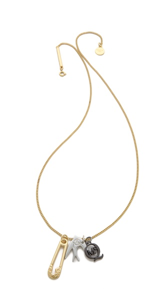 McQ - Alexander McQueen Charm Necklace