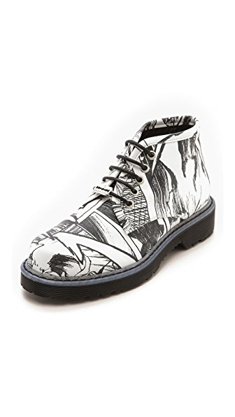 McQ - Alexander McQueen Martin Lace Up Derby Boots