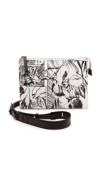 McQ - Alexander McQueen Printed Cross Body Bag
