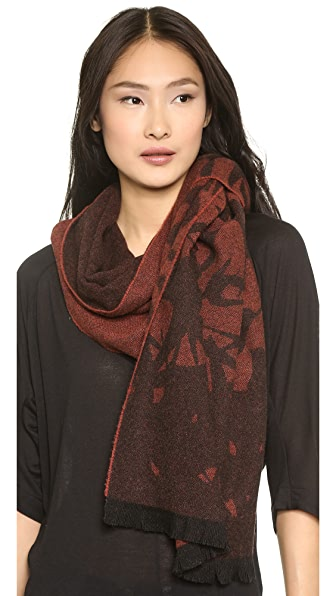 McQ - Alexander McQueen Oversized Swallow Scarf