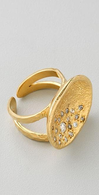 MELINDA MARIA Pod Pave Ring