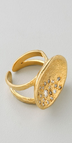 MELINDA MARIA Pod Pave Ring