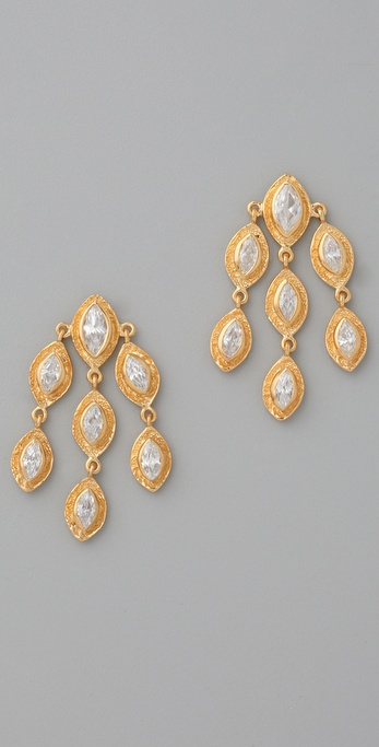 MELINDA MARIA Marquise Earrings