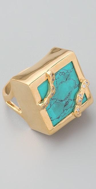 MELINDA MARIA Grecian Goddess Ring