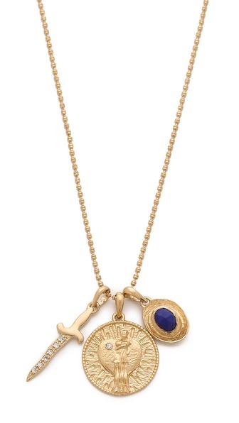 MELINDA MARIA Goddess of Love Necklace