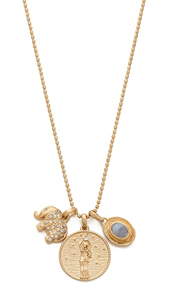 MELINDA MARIA Goddess of Prosperity Necklace