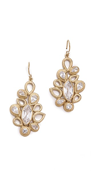 MELINDA MARIA Theo Drop Earrings