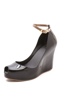 Melissa Patchouli Wedge Pumps